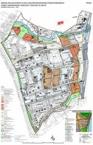 Grafika do nowego projektu planu Orłowa (2016)